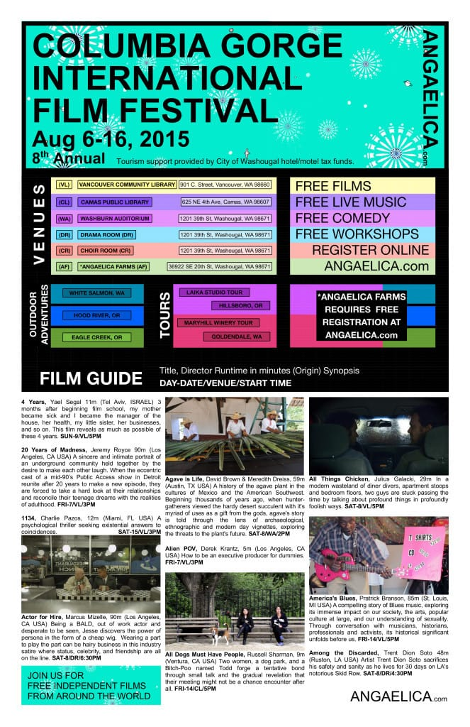COLUMBIA GORGE INTERNATIONAL FILM FESTIVAL